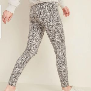 Old Navy Stevie High Rise Leopard Print Large TALL